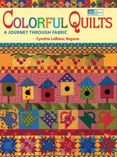 Read Online Colorful Quilts: A Journey Through Fabric ebook