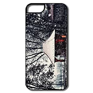 IPhone 5S Cover, Amazing Winter Cases For IPhone 5/5S - White/black Hard Plastic