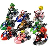 Mario Kart 7 Pullback Racers From Tomy Set Of 5 Toys