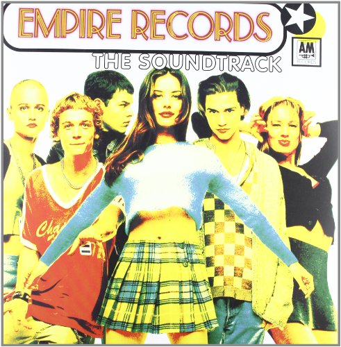 Empire Records LP Orange Vinyl