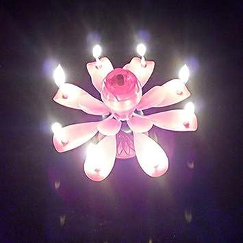 Bougie Pour Musicale Maybefly Fleur Anniversaire Magique ul1TFJ3Kc