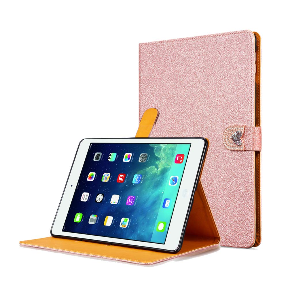 売り切れ必至! ZCDAYE iPad ZCDAYE 9.7インチ2017 B07K13FPSJ/2018ケース、高級キラキラ[マグネットクロージャー] PUレザーフリップウォレット[ラブダイヤモンドバックル] [カードスロット] FolioインナーソフトTPUスタンドカバーiPad 9.7インチ2017/2018 - ローズゴールド B07K13FPSJ, KSTARセレクトSHOP:0c105499 --- senas.4x4.lt