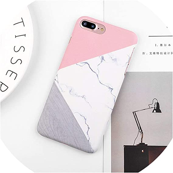 Amazon Com Luxury Space Moons Airplane Cartoon Case For Iphone Se 5 5s 6 6s 7 8 Plus X Case Marble Frosted Hard Cover Phone Cases Couque Style 2 I7 I8 4 7 Inch