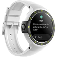 Ticwatch S Glacier Smart Watch,1.4 inch OLED Display, Android Wear 2.0,Compatible with iOS and Android, Your Sports Companion