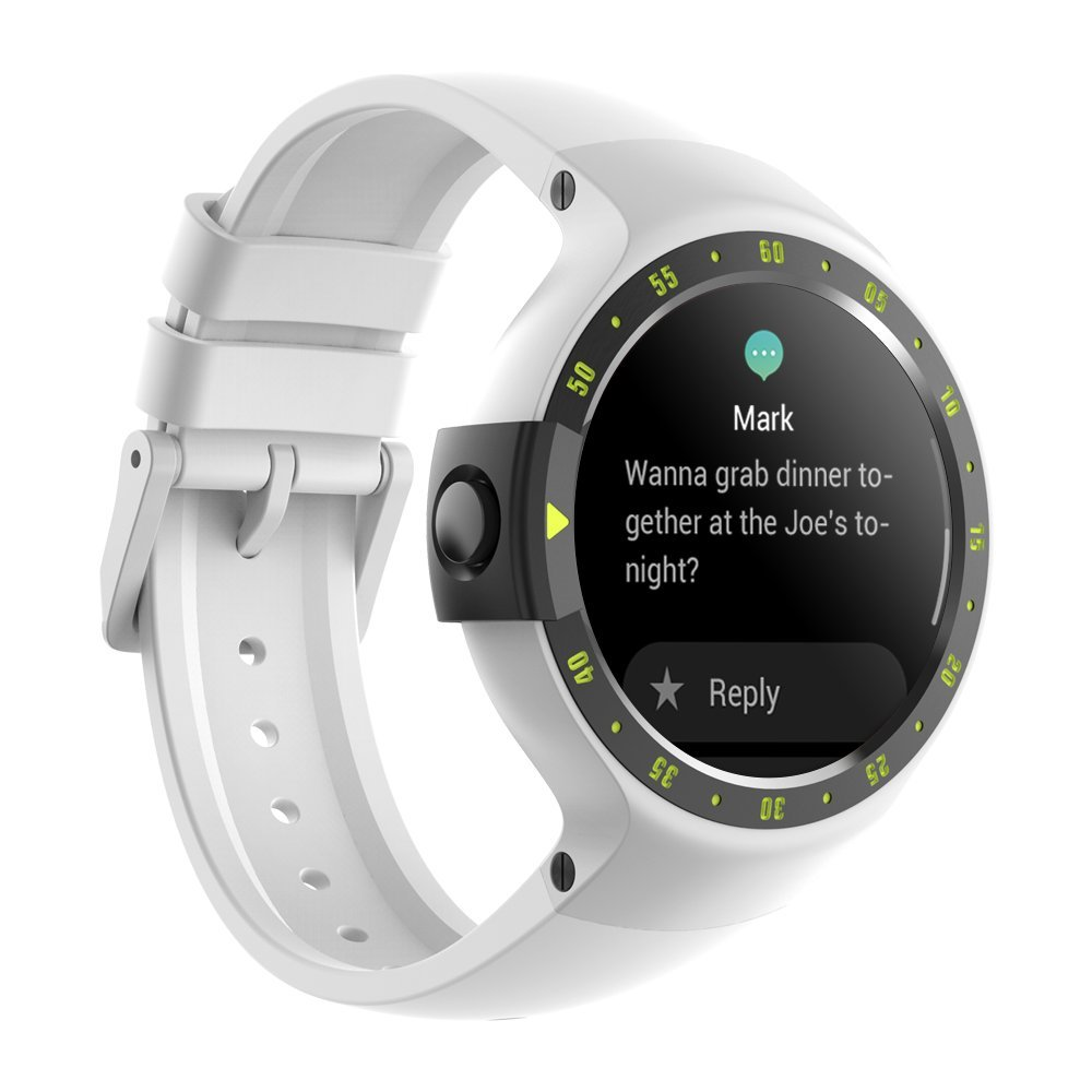 TicWatch Pro Bluetooth Smart Watch, Layered Display, NFC Payment, Google Assistant, Wear OS by Google (Formerly Android Wear),Compatible with iPhone and Android