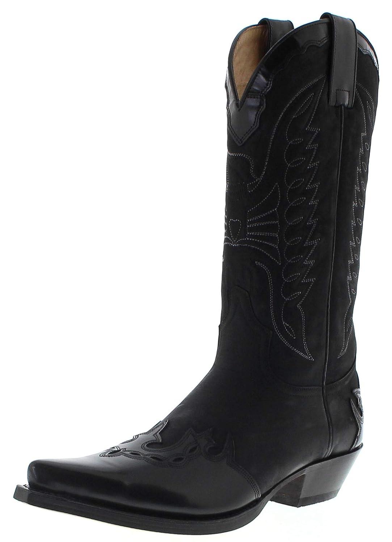 Sendra Stiefel Unisex Unisex Unisex Cowboy Stiefel 2560 Westernstiefel Schwarz B07HGDD4D5 50de72
