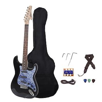 """Flash venta Adm 39 """"Full tamaño estándar Strat guitarra eléctrica con cuerpo sólido,"""