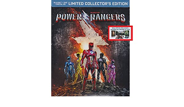Amazon.com: Power Rangers Limited Edition Collectors Edition Gift Set: Movies & TV