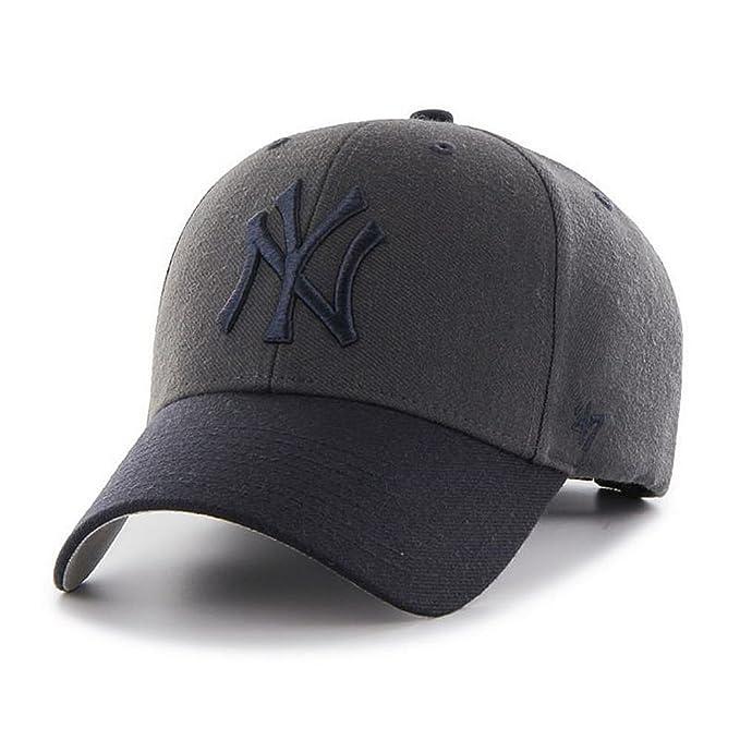 47 Gorra Brand – Mlb New York Yankees Mvp Curved V Struct fit carbón ...
