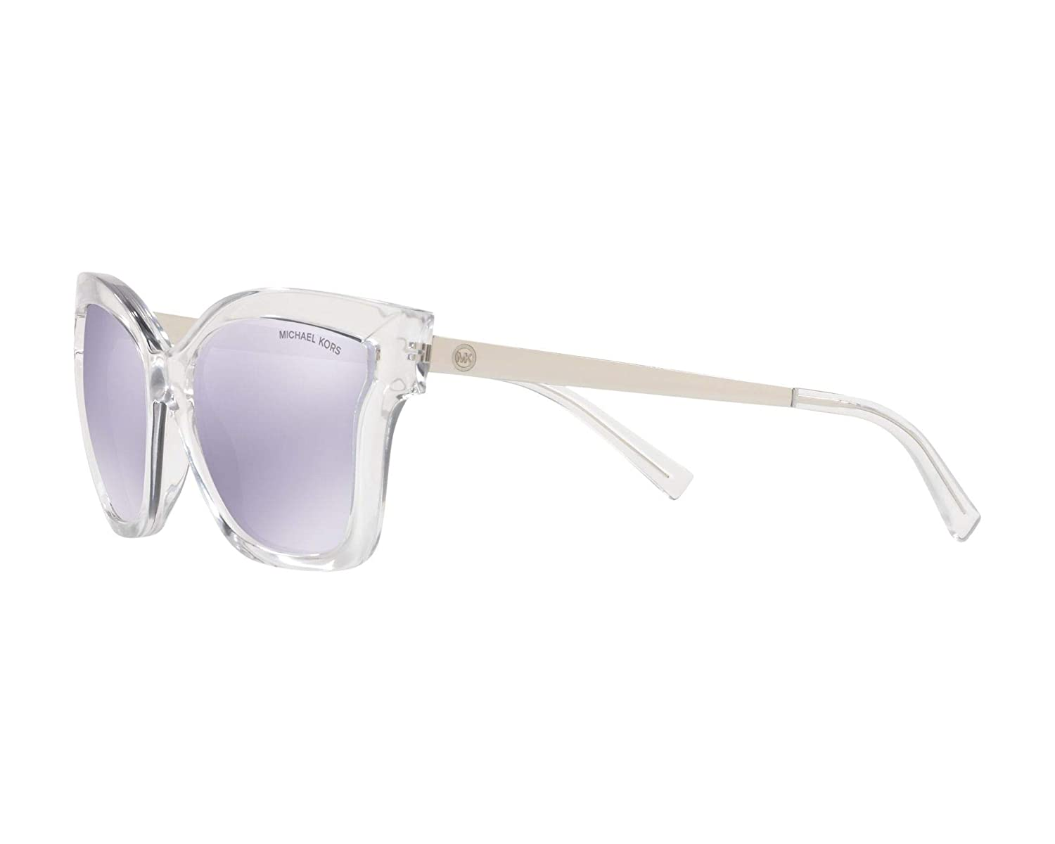 6b60661a6e Sunglasses Michael Kors MK 2072 30502S CRYSTAL CLEAR INJECTED at Amazon  Women s Clothing store