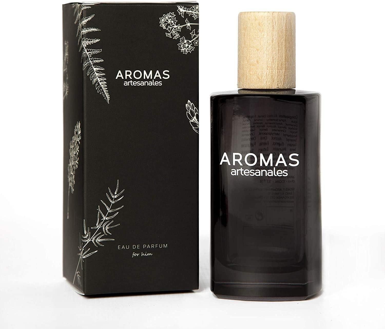 AROMAS ARTESANALES - Eau de Parfum Llanes | Perfume con vaporizador para hombres | Fragancia Masculina 100 ml | Distintos Aromas - Encuentra el tuyo Aquí
