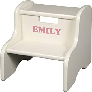 product image for Little Colorado Personalized Linen Step Stool