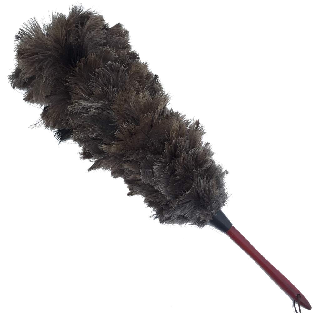 Sowder Fullness Natural Ostrich Feather Dusters Hardwood Handle (27inch)