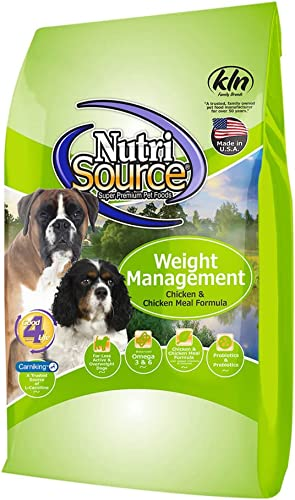 Nutrisource Weight Management Dry Dog Food 5 Pound