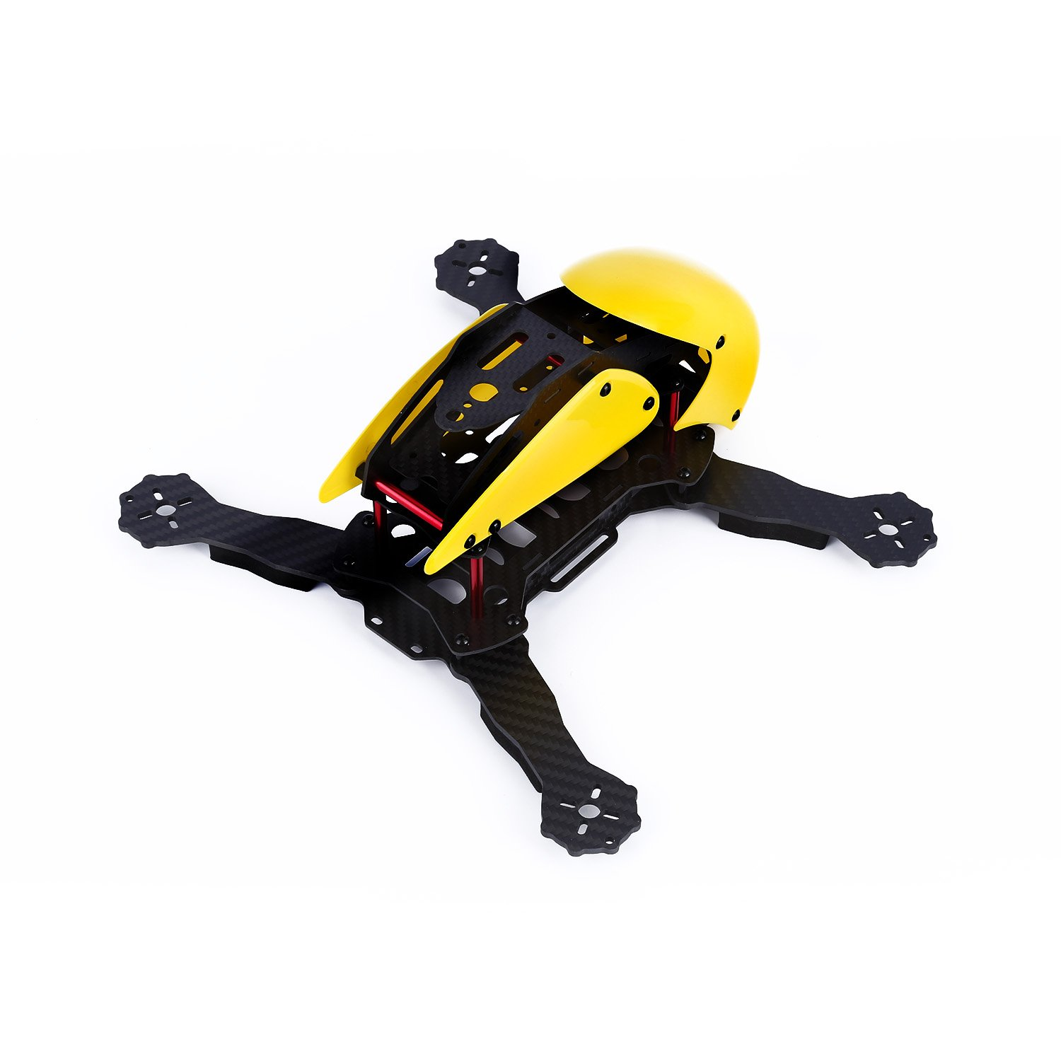 Amazon.com: YKS DIY Robotcat Pure Carbon Fiber Mini 270 Quadcopter ...