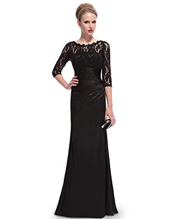 Elegant Black Long Dresses for Girls