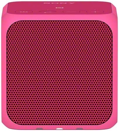 Sony SRSX11 Ultra-Portable Bluetooth Speaker Pink