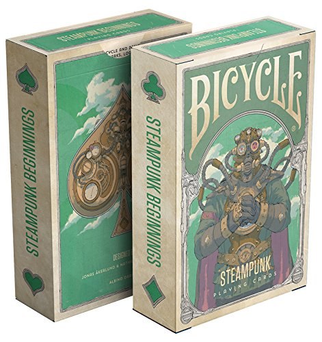 Steampunk Playing Cards 3