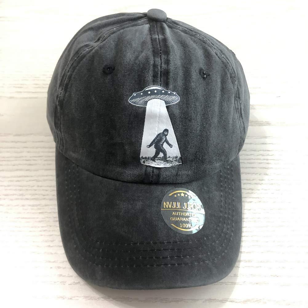 05cad476a NVJUI JUFOPL UFO Bigfoot Cotton Adjustable Cowboy Cap Gym Caps for ...