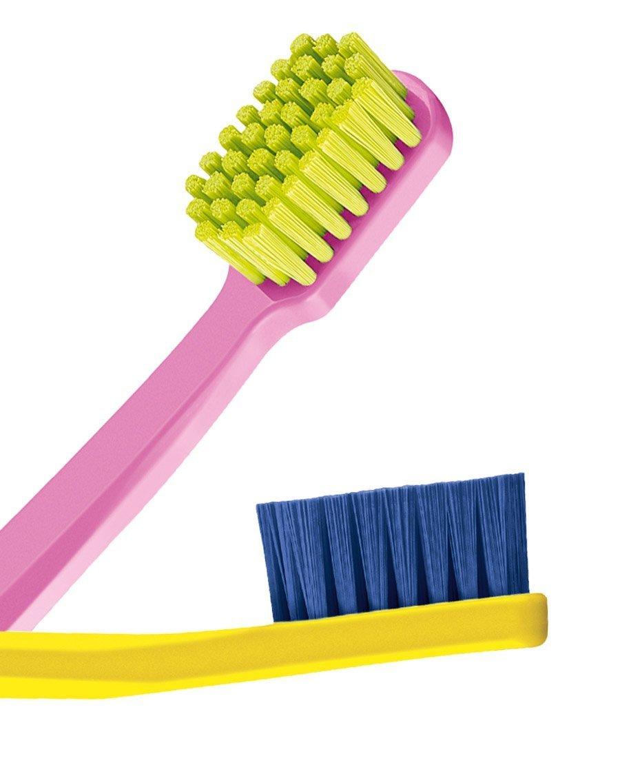 Tacto suave y cepillo de dientes especial para, de 4 cepillos con cerdas de, Curaprox tacto suave y 5460. Más suave de la sensación de Y de la mejor de ...