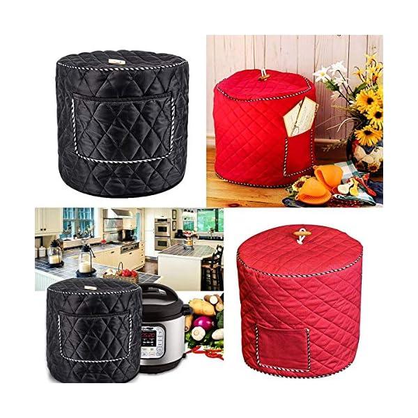6QT/8QT Electric Pressure Cookers Decorative Pocket Electric Pressure Pot Dust Cover Small Kitchen Appliances… 5