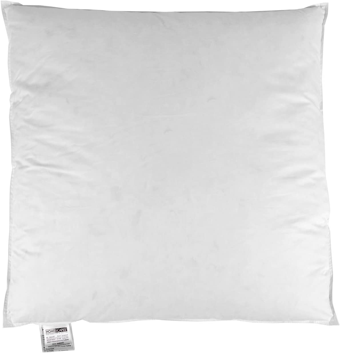 """15/% Down Duck Feather and Down Cushion Pad 26/"""" x 26/"""" 65cm x 65cm 85/% Feather"""