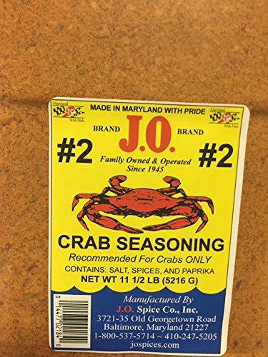 Crab Seasoning (J.O. Crab Seasoning 11 1/2 lb (4763 g))