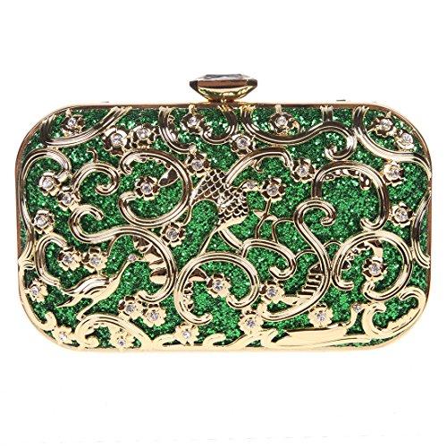 Fawziya Bird Purses And Handbags For Women Bags Online Shopping Fashion-Green