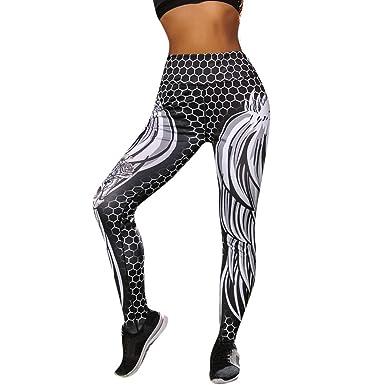 Pantalones Yoga Mujeres Impresión de la Cabeza del cráneo ...
