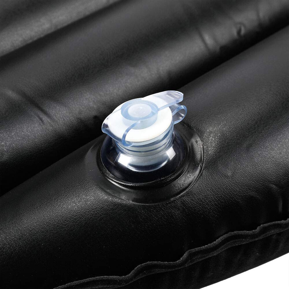 xyz-home 57'' Inflatable Mattress Air Cushion Car Backseat Bed with Pump 2 Pillows idu G42438 by xyz-home (Image #7)