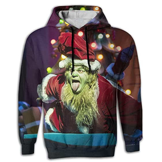locpm licopc pullover hoodie how the grinch stole christmas sublimated 3d full print compact adult hoodie - How The Grinch Stole Christmas Sweater