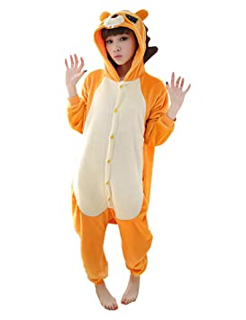 Ferrand Kigurumi Pijamas Unisexo Adulto Traje Disfraz Animal Adulto Animal Pyjamas Le¨®n XL