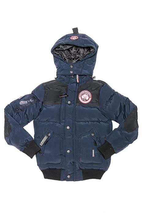 Geographical Norway-Abrigo para niño Geographical Norway Vortex, color azul marino azul marino 8 años: Amazon.es: Ropa y accesorios