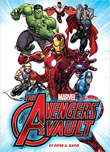marvel the avengers vault peter a david 9781626862999 amazon