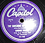 78 RPM, Gordon MacRae, The Sunshine of Your Smile, Capitol 57-755, 1949