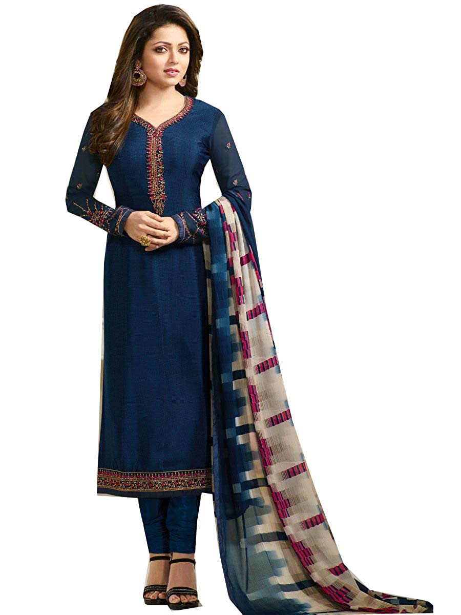 bluee 1 STELLACOUTURE Readymade Long Women Dress Kurti for Women Formal & Party Wear L.T 111