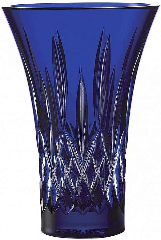 Waterford Crystal Treasures of The Sea Lismore Vase Flared