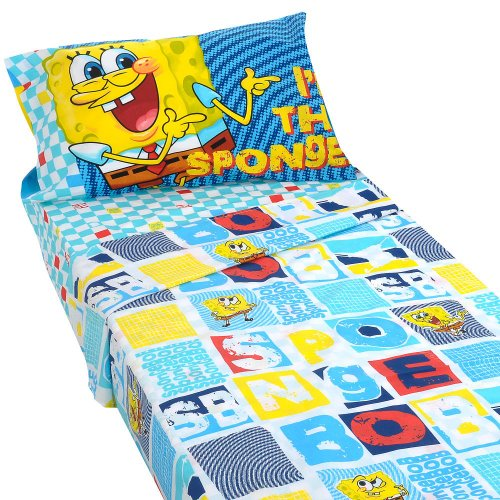 Spongebob Squarepants Street Bob Bedding Twin - Sheets Spongebob
