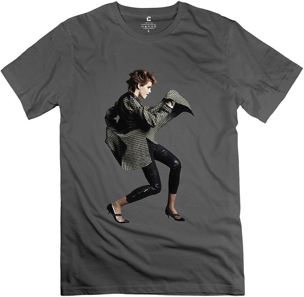 Fire-Dog Men's Harry Potter Emma Watson Dance Tshirts Natural