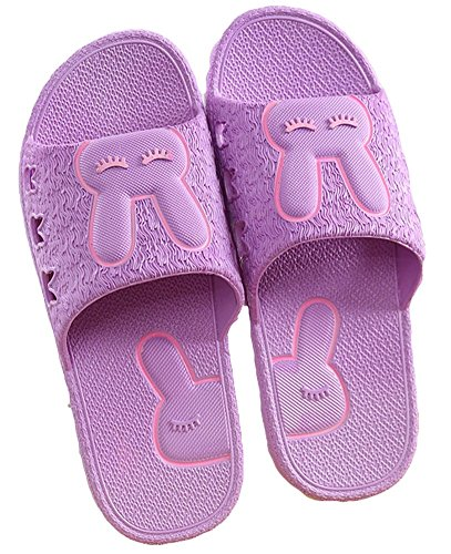 Non Womens King Pure Slippers Color Comfort Purple Female Ma Slip Sandals For nSxqpxX
