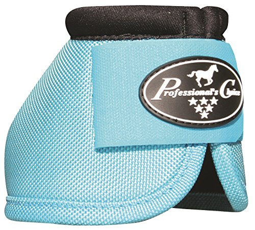 (Professional's Choice Ballistic No Turn Overreach Bell Boots All Colors & Sizes (Turquoise, Medium))