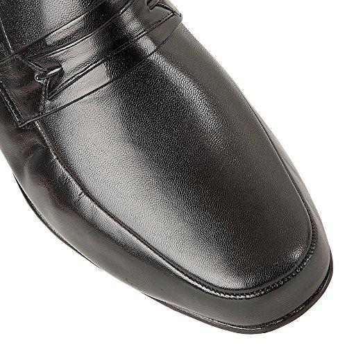 Rombah Uomo Mocassini Black Nero Wallace Leather PP7EqB
