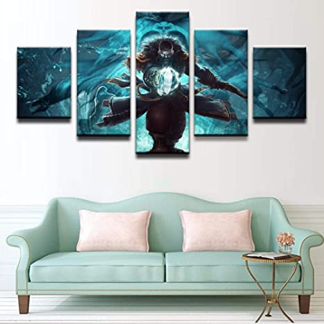 mmwin Wall Artwork Poster 5 PiecePicturePrintHome Decoration ...