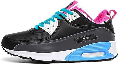Zapatillas deportivas para correr para mujer, con absorción de golpes de aire, para fitness, gimnasia, talla 36 a 7: Amazon.es: Zapatos y complementos