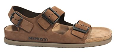0445cf7525 Amazon.com | Mephisto Men's Nando (12 M) Dark Brown | Sandals