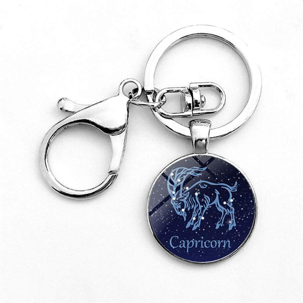 Amazon com: Scorpio Constellation Zodiac Keychain for Women