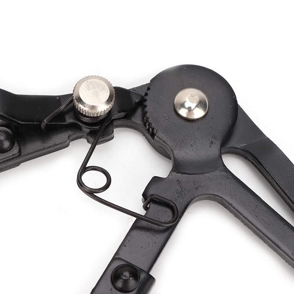 pinzas de acero inoxidable con pinza flexible para cables Manguera automotriz Herramienta de reparaci/ón de abrazaderas Alicates