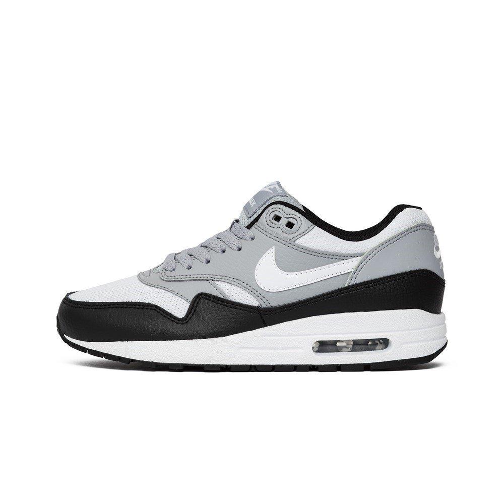 d249a60c48 Amazon.com: Nike Wmns Air Max 1 Premium Wolf Grey - 454746011 - Color White- Grey-Black - Size: 9.0: Shoes