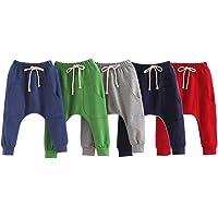 LOSORN ZPY Pantalones largos para niños, para verano, holgados, holgados, para hacer deporte
