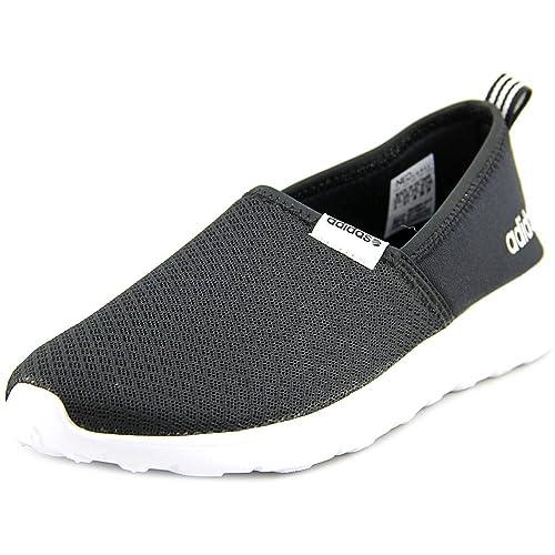 adidas NEO Lite Racer Slip On W Casuale della Scarpa da Tennis, Nero/Nero/Bianco, 6 M US: Amazon.it: Scarpe e borse